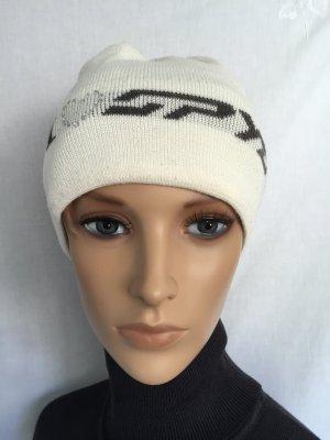 Spyder Mütze Skimütze Wintermütze Weiß weiße Beanie Cremeweiß Snowboard Winter