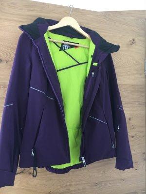 Spyder Giacca sport viola scuro-marrone-viola