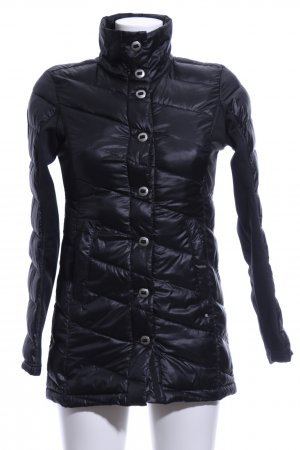 Spyder Quilted Coat black quilting pattern casual look
