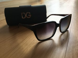 Square Black Flower Frame Dolce & Gabbana Sunglasses