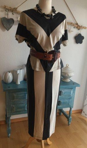 St.Cloud Kostüm schwarz -beige36/38