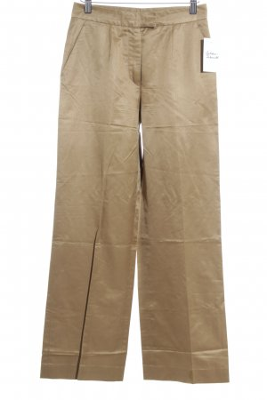 St. emile Bundfaltenhose camel Business-Look