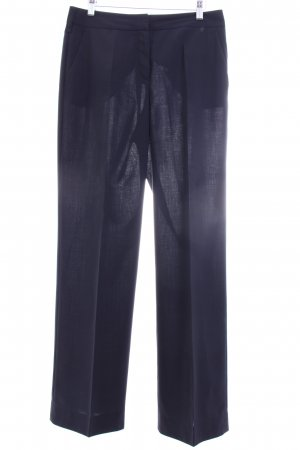 St. emile Bundfaltenhose dunkelblau Business-Look