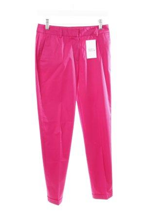 St. emile Bundfaltenhose pink extravaganter Stil