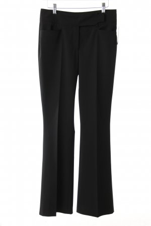 St. emile Bundfaltenhose schwarz klassischer Stil