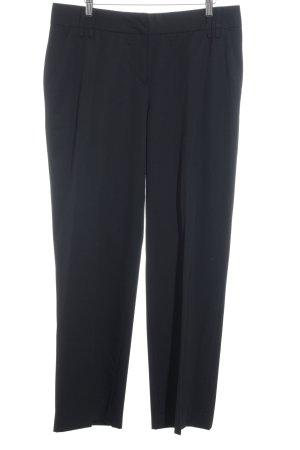 St. emile Pantalon à pinces noir style classique