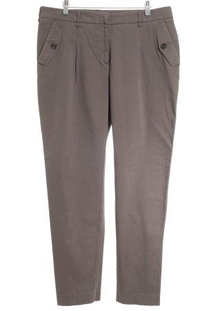 St. emile Pantalon à pinces taupe style simple