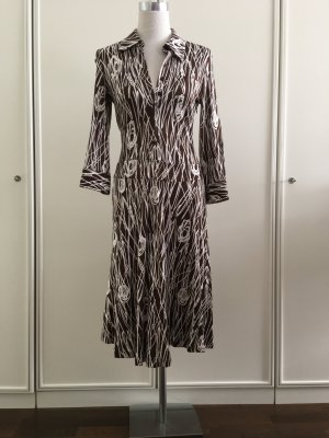 St. EMILE - Designerkleid langarm - purer Luxus - 100 % Seide