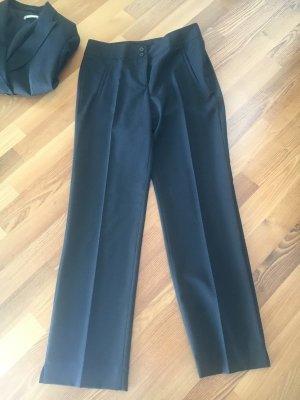 St. emile Wollen broek zwart Scheerwol