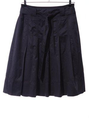 St. emile Plaid Skirt black business style