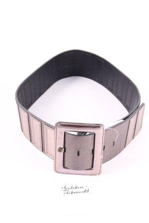 St. emile Cinturón color plata-gris oscuro estilo extravagante