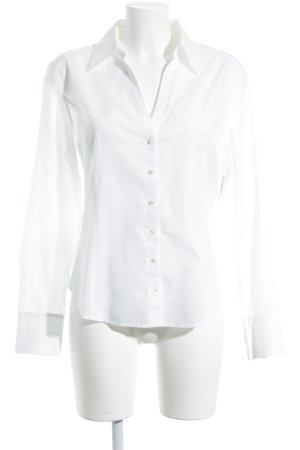 St. emile Hemd-Bluse wollweiß klassischer Stil