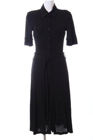 St. emile Abito blusa camicia nero stile casual