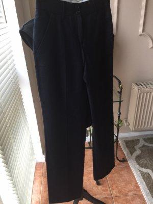 St. emile Pantalon à pinces bleu foncé