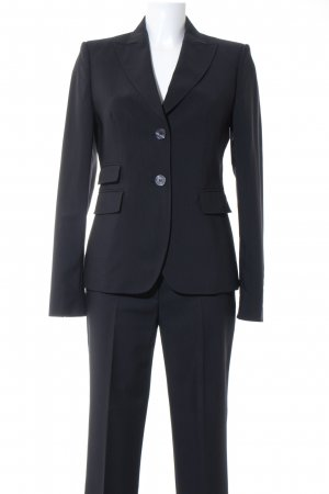 St. emile Tailleur-pantalon bleu foncé style d'affaires