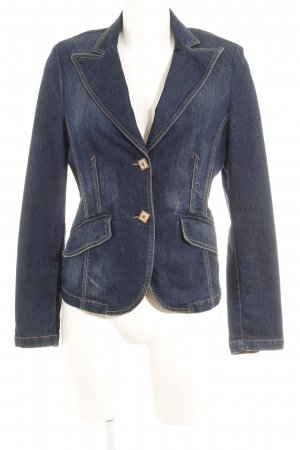 St. emile Denim Blazer dark blue casual look