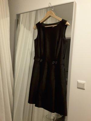 St. Emile Kleid, schwarz, leicht glänzender Stoff