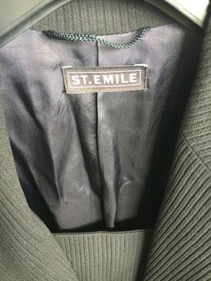 St. Emile Kostüm, schlicht, Größe 36, schwarz, Schurwolle, super schnitt