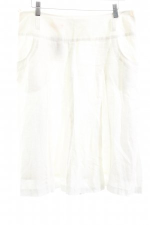 St. emile Leinenrock weiß minimalistischer Stil