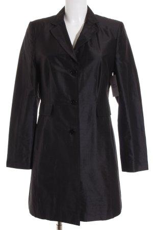 St. emile Blazer largo negro estilo clásico