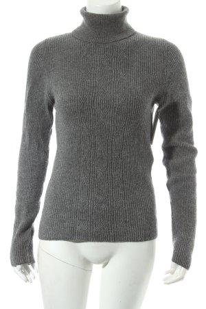 St. emile Rollkragenpullover grau minimalistischer Stil