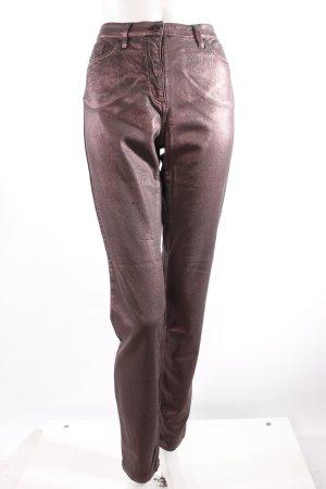 St.Emile Skinny Jeans Metallic-Beschichtung