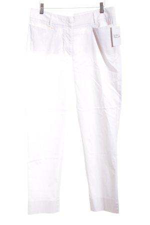 St. emile Stoffhose weiß Elegant