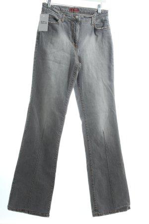 St. emile Straight-Leg Jeans grau Casual-Look
