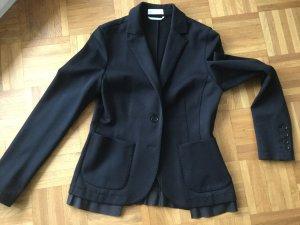 St. emile Jersey Blazer negro tejido mezclado