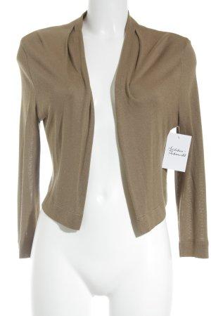 St. emile Strick Cardigan beige-bronzefarben Casual-Look