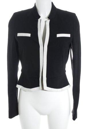 St. emile Sweatblazer schwarz-weiß Elegant