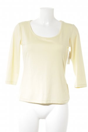 St. emile T-Shirt blassgelb Casual-Look