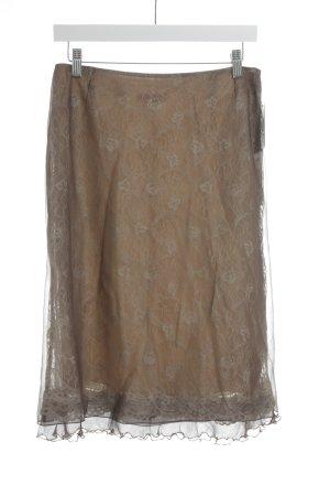 St. emile Falda de tul estampado con diseño abstracto elegante
