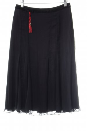 St. emile Tulpenrock schwarz-rot Romantik-Look