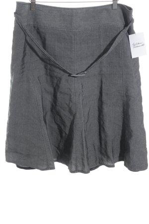 St. emile Jupe en tweed gris-gris clair style d'affaires