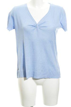 St. emile V-Ausschnitt-Shirt himmelblau Casual-Look