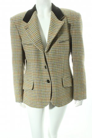 St. emile Woll-Blazer Hahnentrittmuster Casual-Look