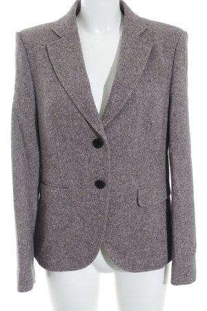 St. emile Woll-Blazer meliert klassischer Stil