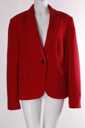 St. emile Woll-Blazer rot Casual-Look