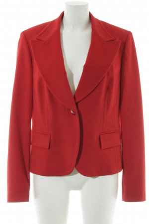 St. emile Blazer en laine rouge élégant
