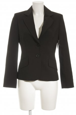 St. emile Woll-Blazer schwarz Business-Look