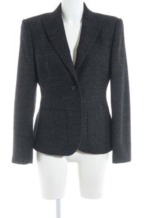 St. emile Woll-Blazer schwarz-weiß meliert Business-Look