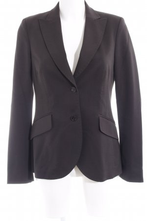 St. emile Wool Blazer black brown elegant