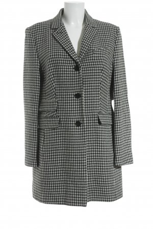 St. emile Wool Blazer white-black houndstooth pattern business style