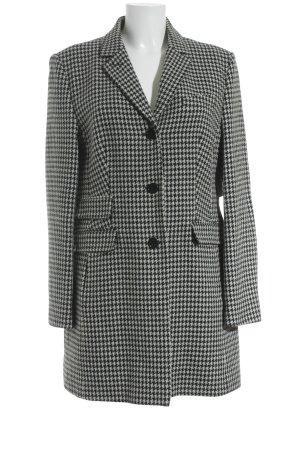 St. emile Blazer in lana bianco-nero Stampa suggestiva stile professionale