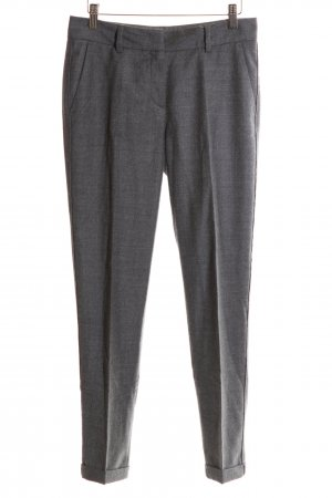 St. emile Woolen Trousers silver-colored flecked business style