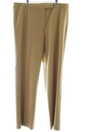 St. emile Pantalon en laine chameau style d'affaires