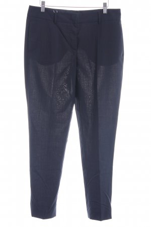 St. emile Woolen Trousers dark blue business style