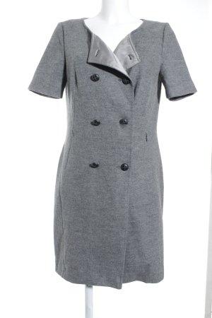 St. emile Wollkleid grau-schwarz Casual-Look