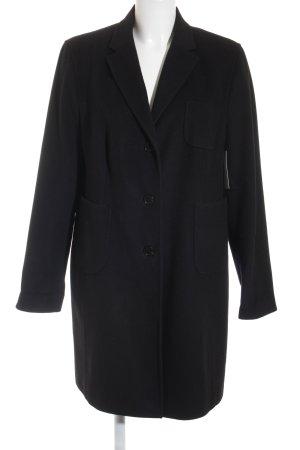 St. emile Cappotto in lana nero stile semplice